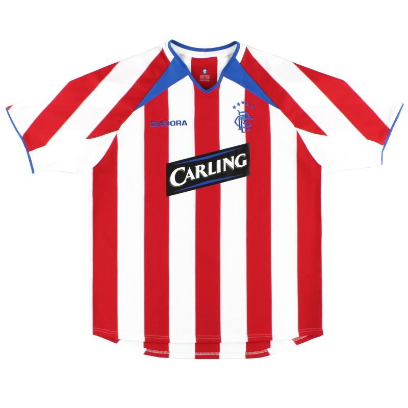 2003-04 Rangers Diadora Away Shirt XL
