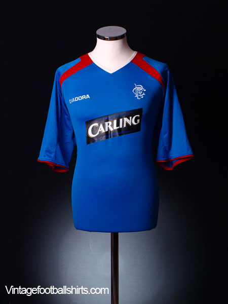 2003-04 Rangers Home Shirt L