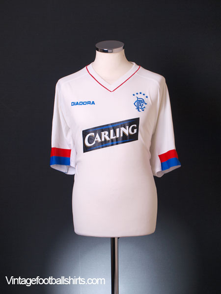 2003-04 Rangers Third Shirt XL