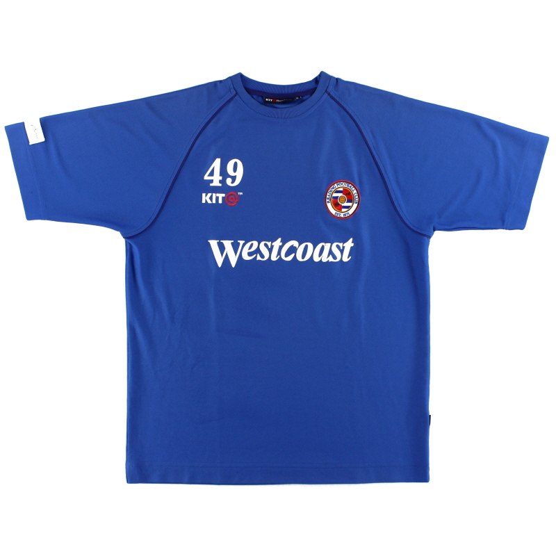 2003-04 Reading Player Issue Training Shirt #49 XL