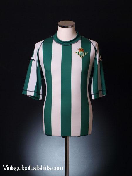 2003-04 Real Betis Home Shirt XXL