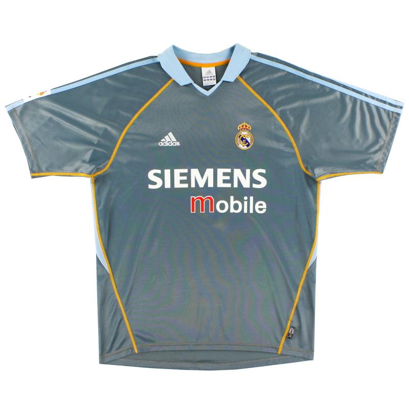 2003-04 Real Madrid adidas Third Shirt S