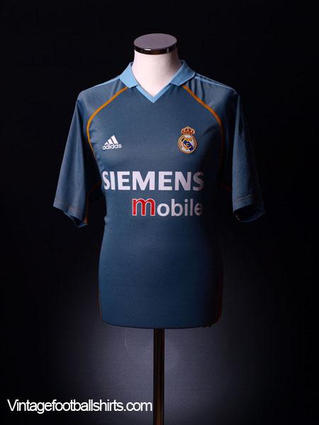 buy popular 9f66f fa89c 2003-04 Real Madrid Away Shirt L for sale