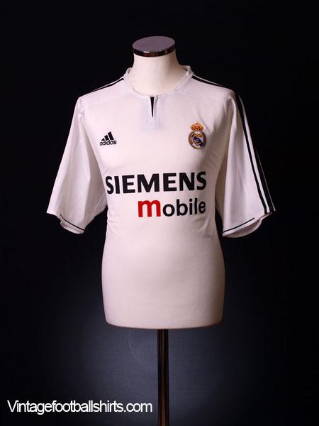 2003-04 Real Madrid Home Shirt XXL