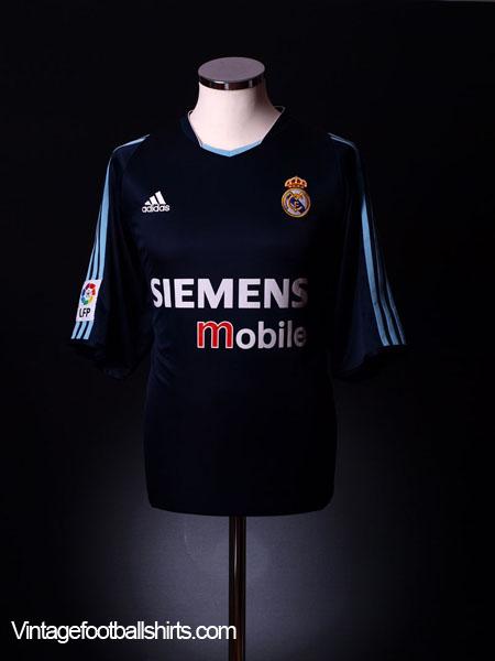 2003-04 Real Madrid Third Shirt XL