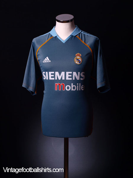 2003-04 Real Madrid Third Shirt L