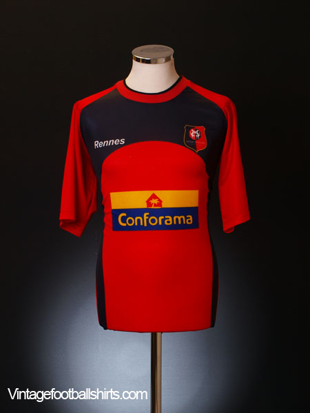 2003-04 Rennes Home Shirt L for sale cf39745ab