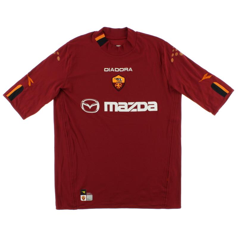 2003-04 Roma Home Shirt XXL