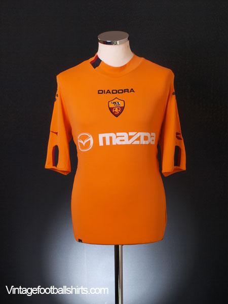 2003-04 Roma Third Shirt L