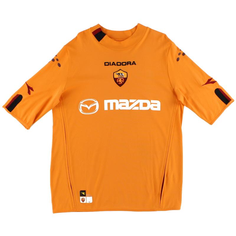 2003-04 Roma Third Shirt XL