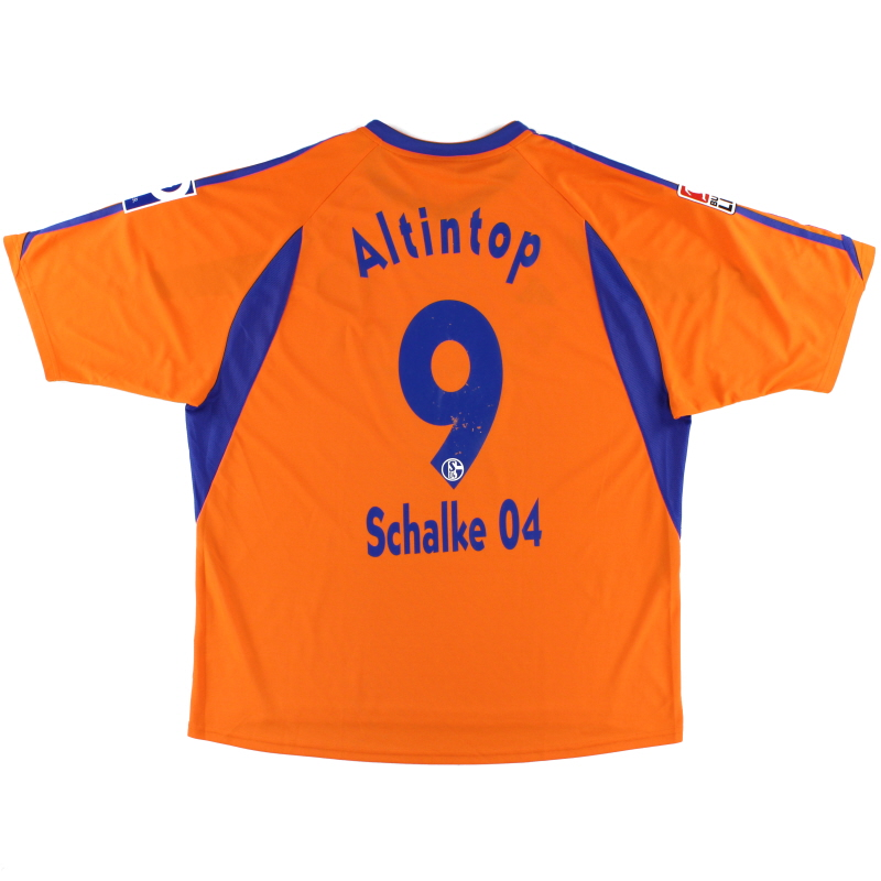 2003-04 Schalke Away Shirt Altintop #9 XXL