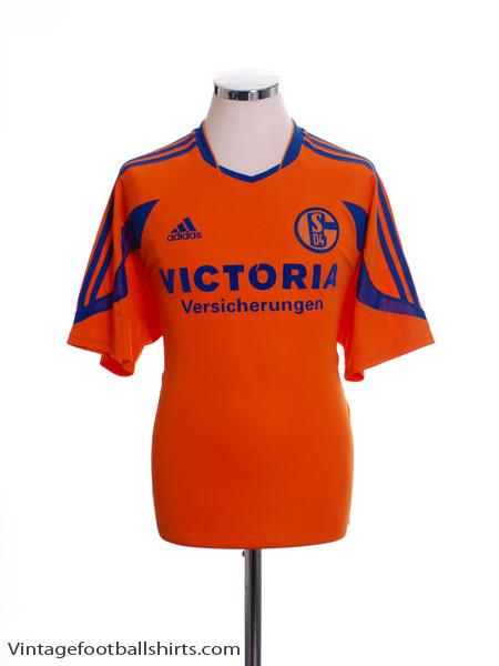 2003-04 Schalke Away Shirt S