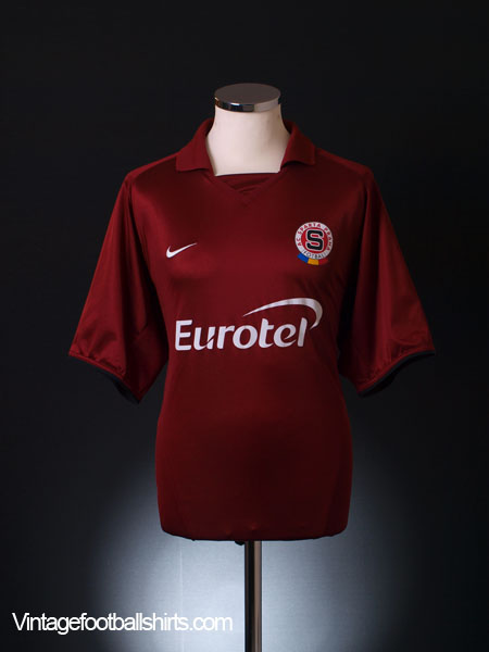 2003-04 Sparta Prague Home Shirt S
