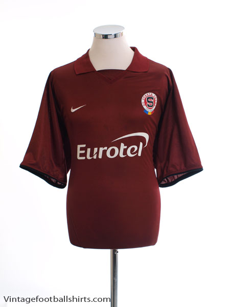 2003-04 Sparta Prague Home Shirt XL