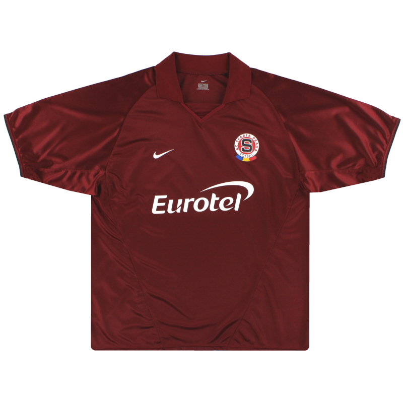 2003-04 Sparta Prague Nike Home Shirt L - 112762