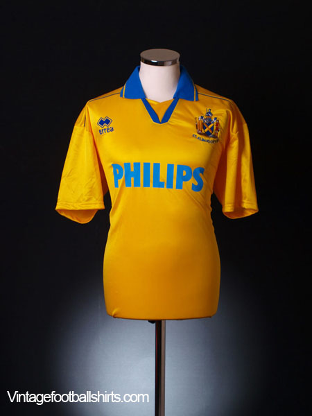2003-04 St Albans City Home Shirt L