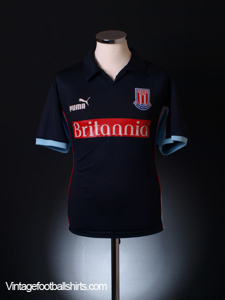 2003-04 Stoke City Away Shirt S
