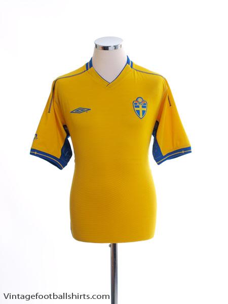 2003-04 Sweden Home Shirt M