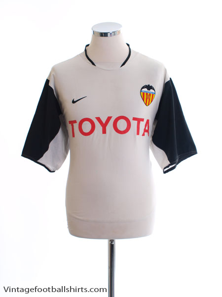 2003-04 Valencia Home Shirt M - 114047