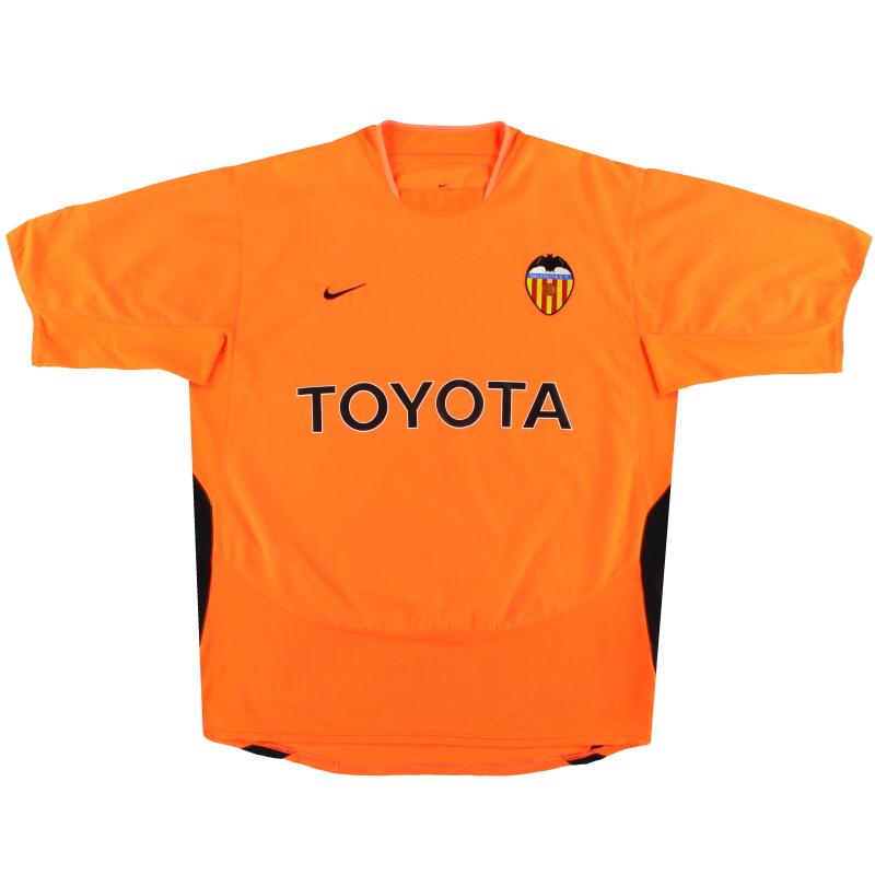 2003-04 Valencia Nike Away Shirt XL - 112611