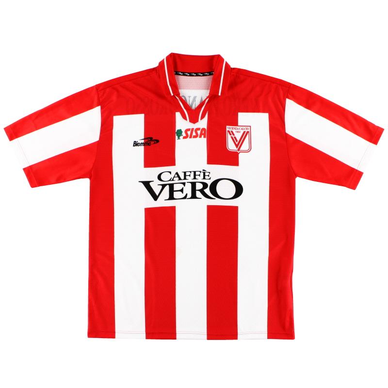 2003-04 Vicenza Home Shirt XL