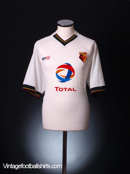 2003-04 Watford Away Shirt S