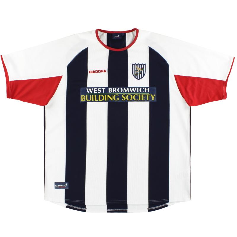2003-04 West Brom Diadora Home Shirt XL