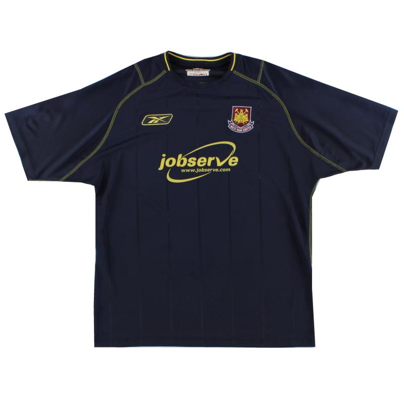 2003-04 West Ham Away Shirt M