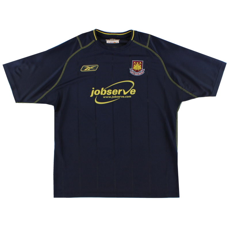 2003-04 West Ham Reebok Away Shirt L