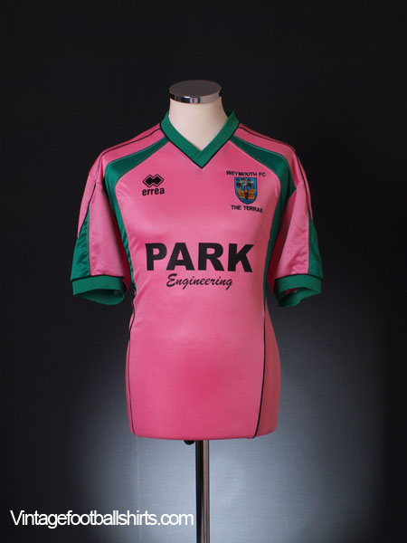 2003-04 Weymouth Away Shirt L
