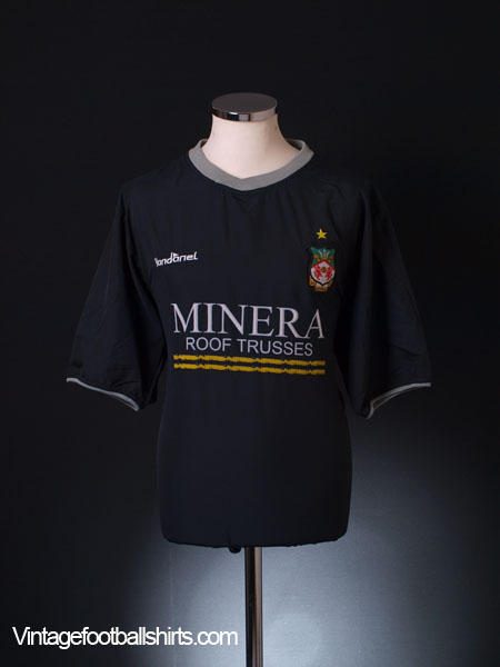 2003-04 Wrexham Away Shirt L