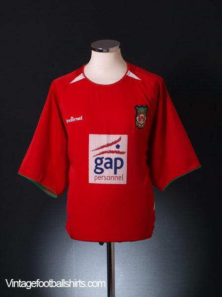 2003-04 Wrexham Home Shirt XL