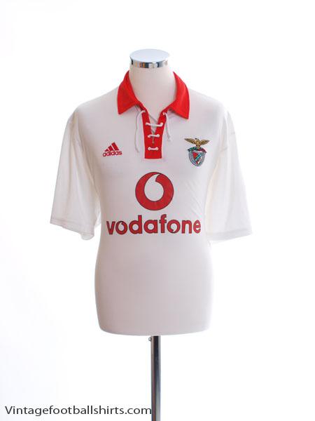 2003-05 Benfica Centenary Away Shirt L
