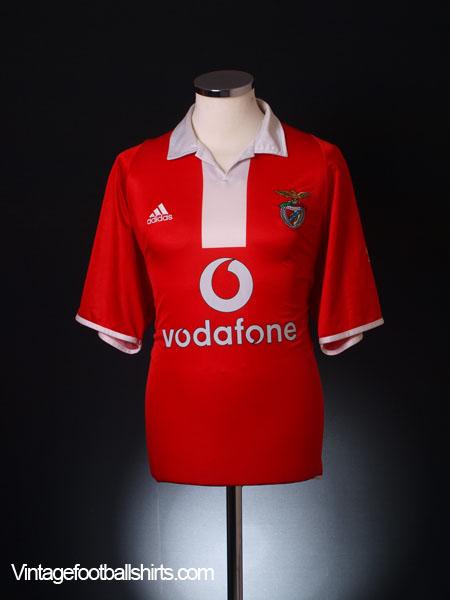 2003-05 Benfica Centenary Home Shirt XL