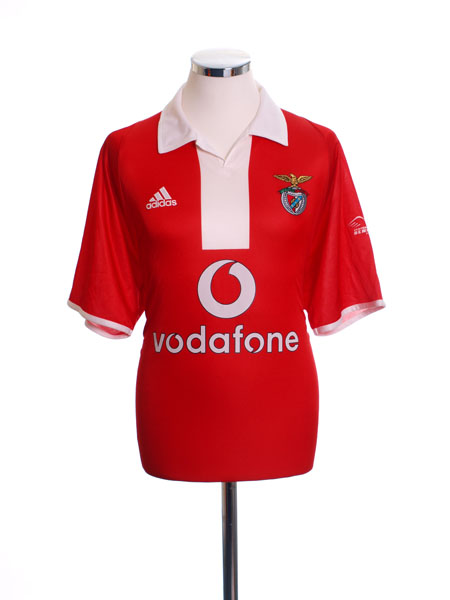 2003-05 Benfica Centenary Home Shirt M