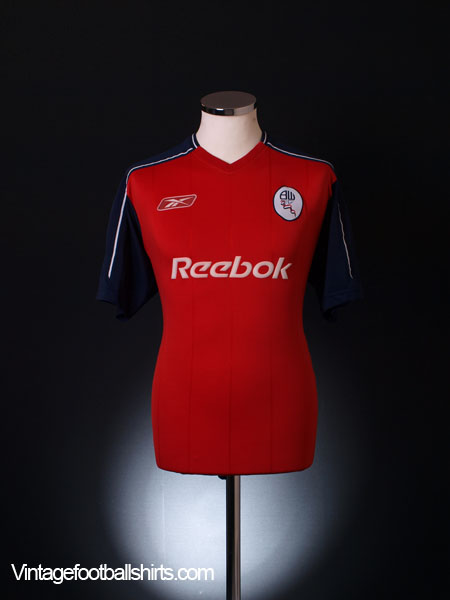 2003-05 Bolton Away Shirt S