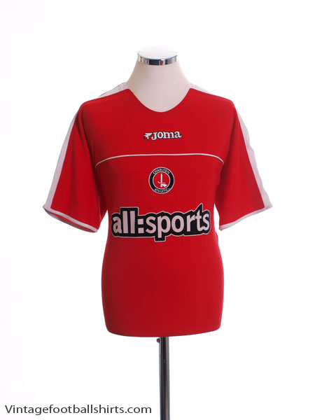 2003-05 Charlton Home Shirt L