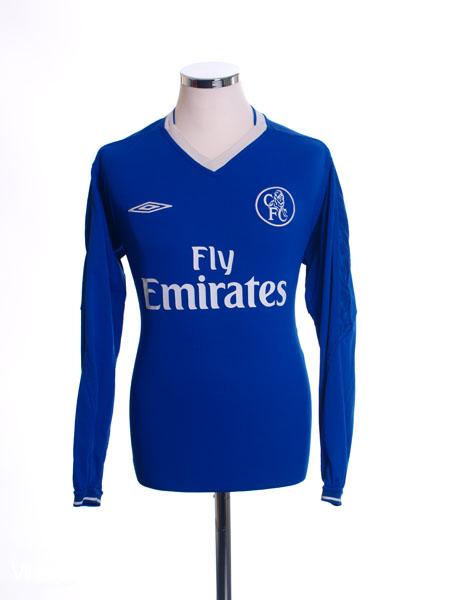 2003-05 Chelsea Away Shirt L/S L