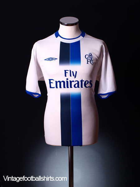 new product 115ba 4e235 2003-05 Chelsea Away Shirt M for sale
