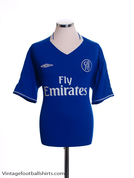 on sale 38b0f c6e25 2003-05 Chelsea Home Shirt M for sale