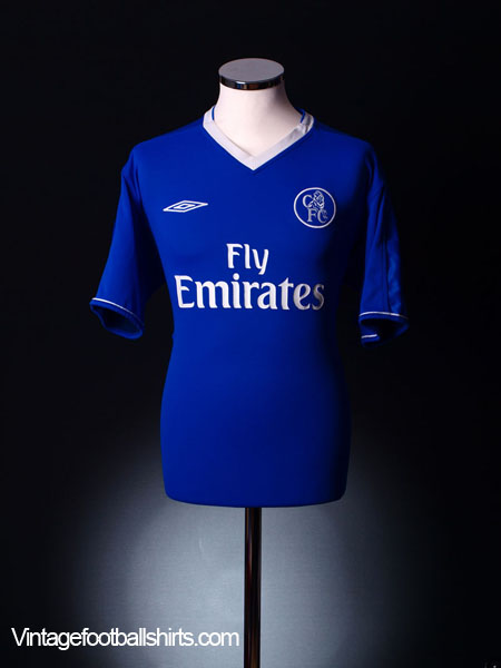 2003-05 Chelsea Home Shirt L.Boys