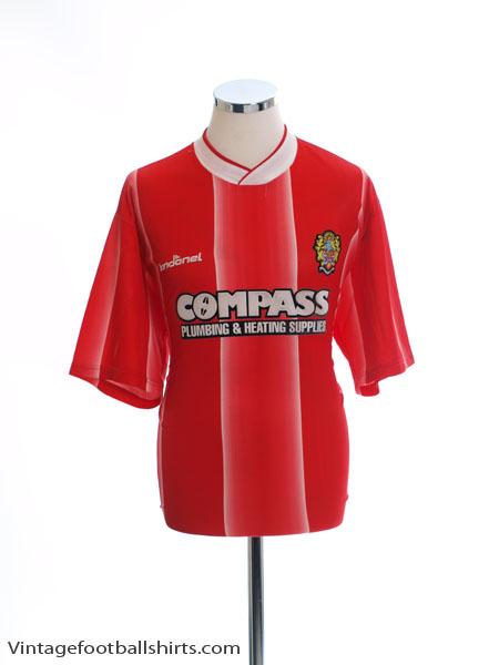 2003-05 Dagenham & Redbridge Vandanel Home Shirt XL