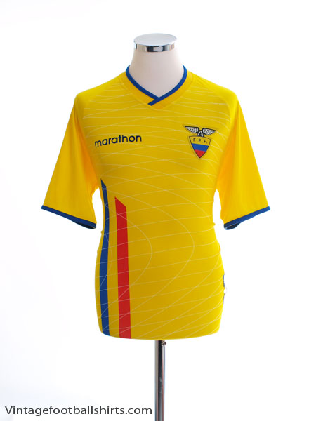 2003-05 Ecuador Home Shirt *Mint* M