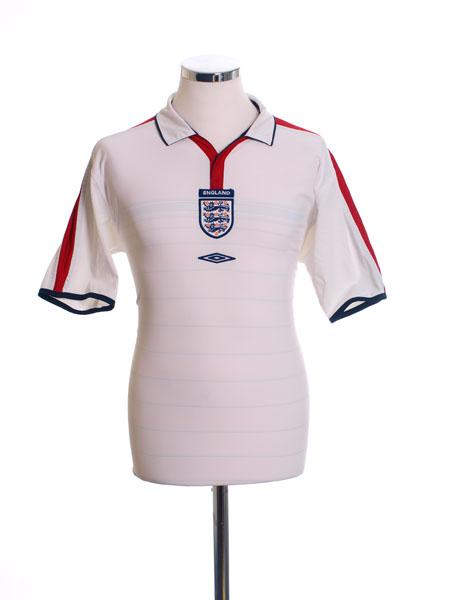 2003-05 England Home Shirt M