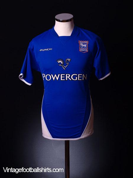 2003-05 Ipswich Home Shirt *BNWT* S