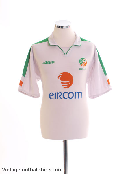 2003-05 Ireland Away Shirt M