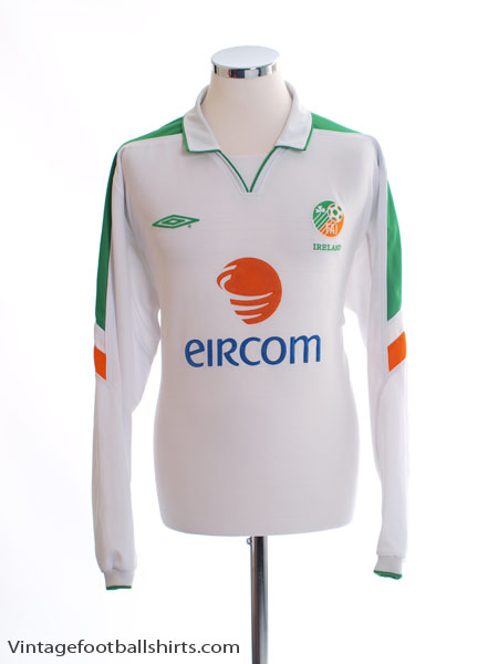 2003-05 Ireland Away Shirt L/S XL