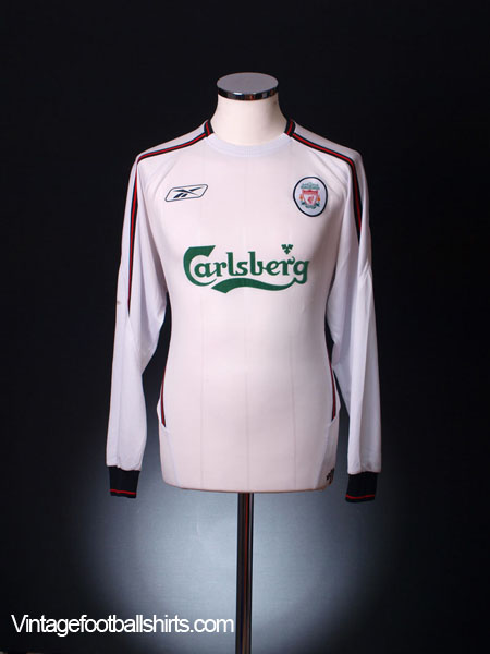 2003-05 Liverpool Away Shirt L/S M