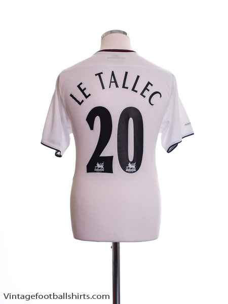 2003-05 Liverpool Away Shirt Le Tallec #20 S