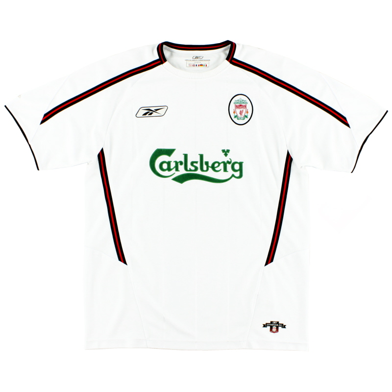 2003-05 Liverpool Reebok Away Shirt XL